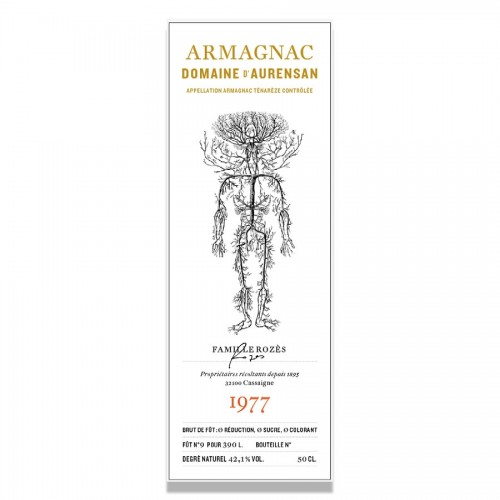 Domaine D'Aurensan - Armagnac Millesime 1977
