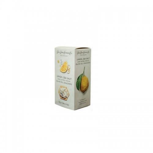 The Fine Cheese Co. - Cracker da Formaggio Limone e Sale