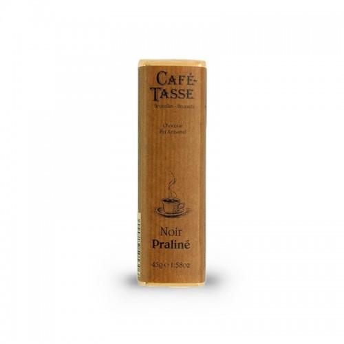 Cafè Tasse – Barretta al cioccolato fondente e pralinato