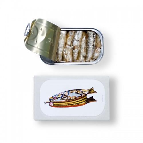 Sardine affumicate in olio d'oliva