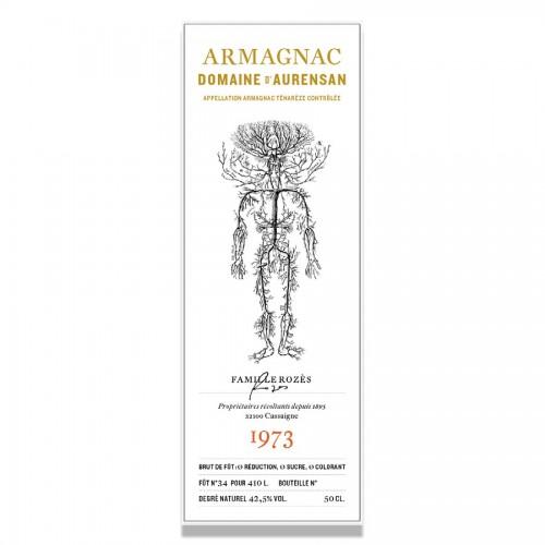 Domaine D'Aurensan - Armagnac Millesime 1973
