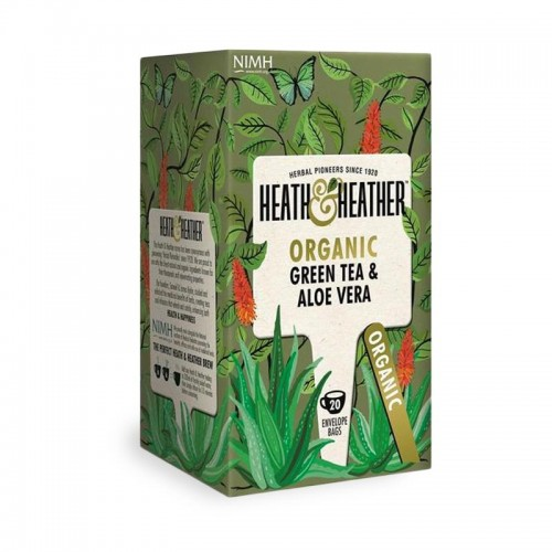 "Heat & Heather - Linea ""Organic Range"" Green Tea & Aloe vera"