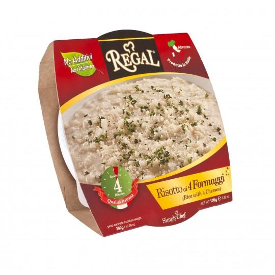 Pastificio Regal - Risotto ai quattro formaggi