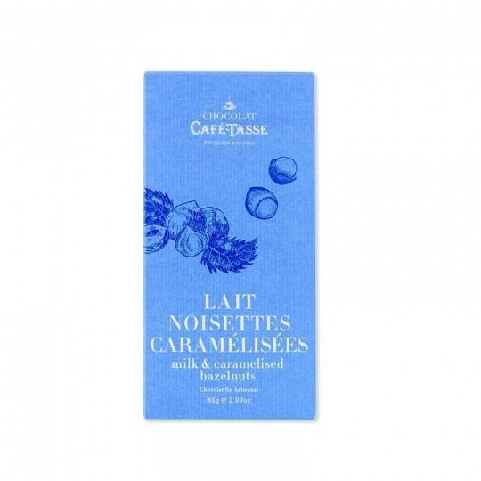 Cafè Tasse – Tavoletta al latte e nocciole caramellate