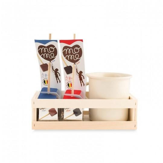 Choc'o'Lait -Mug + Stick fondenti per cioccolata in tazza