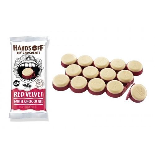 Hands Off - Tavoletta multistrato bianco e frutti rossi