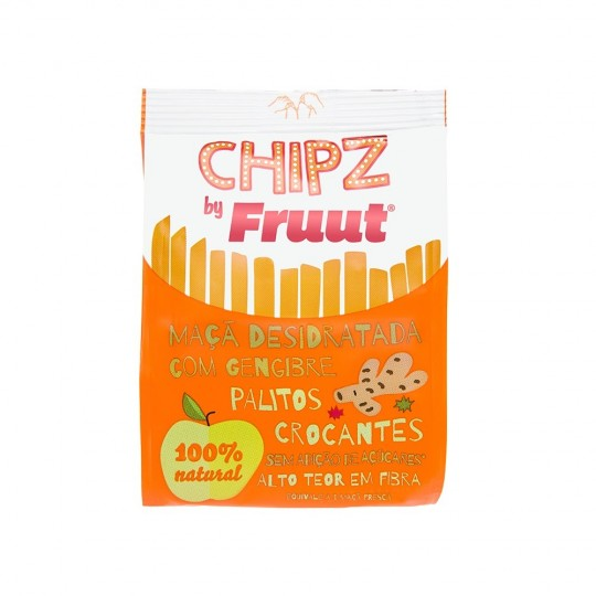 Fruut - Snack alla Mela e zenzero disidratata