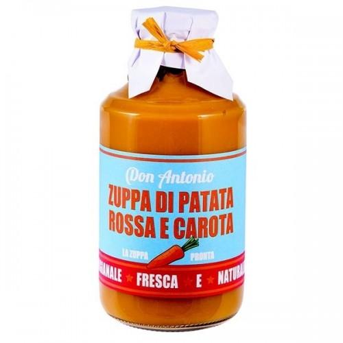 Casina Rossa linea Don Antonio - Zuppa di Patata rossa e Carota