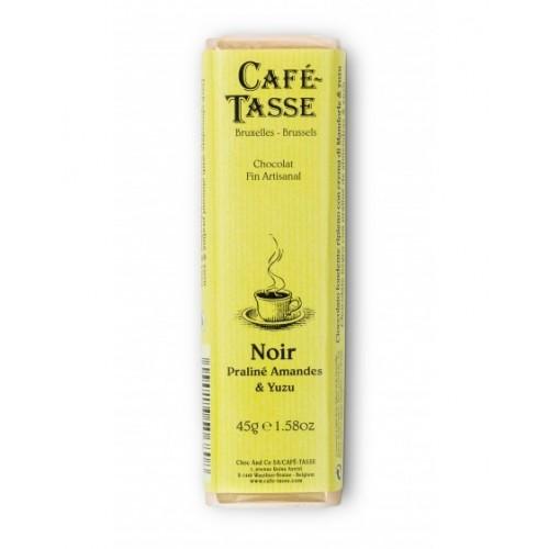 Cafè Tasse - Barretta al cioccolato fondente mandorle e Yuzu
