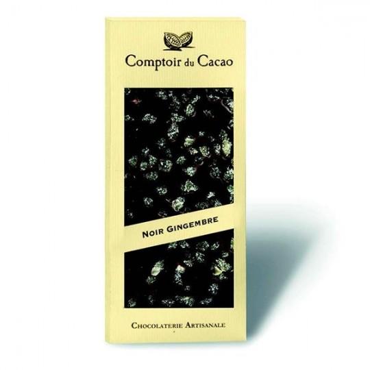 Comptoir Du Cacao - Tavoletta fondente zenzero