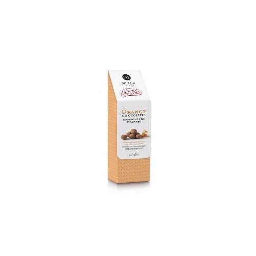 MI & CU - Sfere di scorza d'Arancia e cioccolato