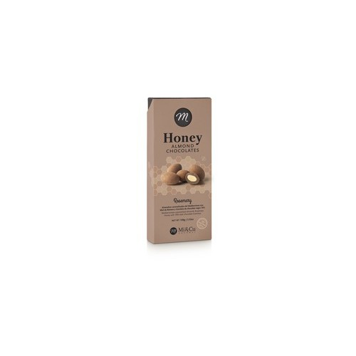MI & CU - Mandorle Caramellate Miele al rosmarino e Cioccolato
