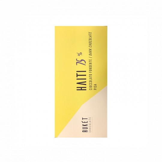 Rukét Chocolate - Cioccolato Haiti Fondente 75%